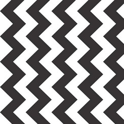 Chevron Black - Riley Blake Designs