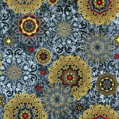 Mystique Tossed Medallions - Windham fabrics