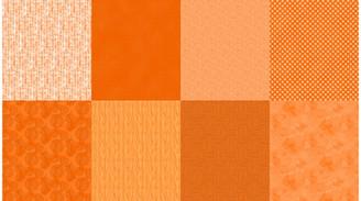 Spectrum Panel Cadmium - Hoffman Fabrics