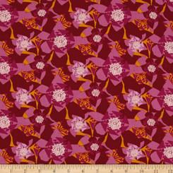 Jitterbug Carolina Redbud - Free Spirit fabrics