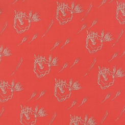 Valley Desert Bloom Coral - Moda fabrics