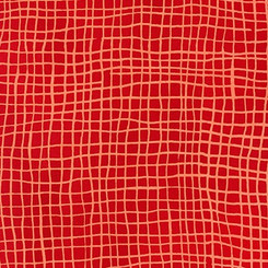 Mark to Make Red Check - Robert Kaufman fabrics