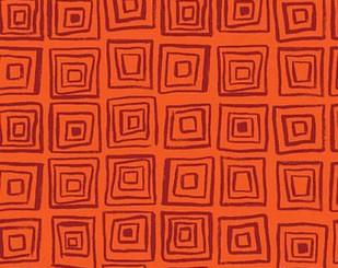 Serengeti Beasties Dark Orange - Clothworks fabric