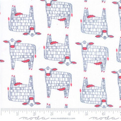 Farm Fresh Cows - Moda fabrics