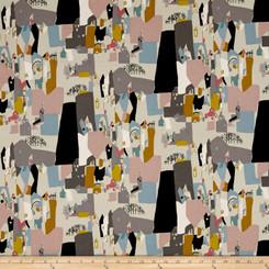 A Ghastlie Abstract - Alexander Henry Fabrics