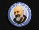"St. Padre' Pio | 3 1/2"" Magnet"