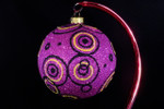 "Going in Circles - Purple 10 Cm Bulb (Approx. 4"")"