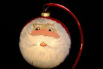 "Whimsical Santa Face 12 Cm Bulb (Approx. 4 3/4"")"