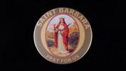 "St. Barbara | 3 1/2"" Magnet"
