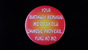 """Your Birthday Reminds Me Of... 