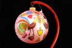 "Polish Folk Art (Wycinanki) 12 Cm Bulb (Approx. 4 3/4"")"