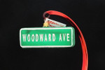 Woodward Avenue Street Sign