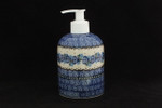Soap Dispenser | Boleslawiec Polish Pottery | B/W