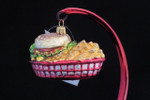 Burger & Fries in a Basket