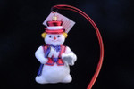 Dental Hygienist Snowman (RED)