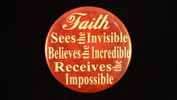 "Faith | 3 1/2"" Magnet"