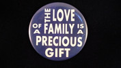 "The love of a family.. | 3 1/2"" Magnet"