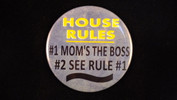 "House rules.. | 3 1/2"" Magnet"