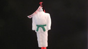Martial Arts Dobok - Green Belt