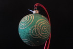"""Going in Circles - Green 10 Cm Bulb (Approx. 4"""")"""