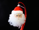Santa Face with Angel Hair Beard