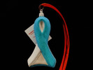 Cervical Cancer Awareness Ribbon