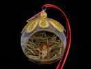 Manger Bulb Glass Ornament