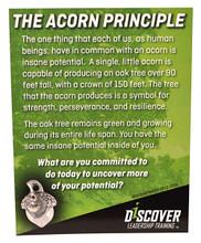 Acorn Charm Card Front