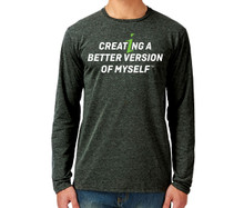 Creating A Better Version of Myself Long-sleeve Shirt (L,XL, XXL only)