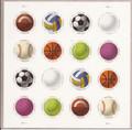 USA 5203-5210 Sports Balls