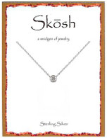 Skosh Bezel Set 4MM Round CZ