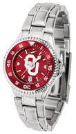 Competitive Ladies Steel AnoChrome-Color Bezel-OU