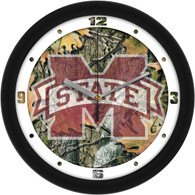 Camo Wall Clock-Miss State