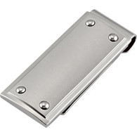 Stainless Steel Money Clip with Screws