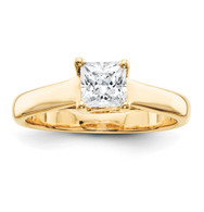14k AA Diamond solitaire ring