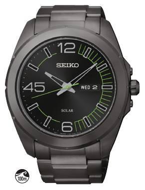 Sne275 Seiko Solar Solar Alarm Chronograph Kinard Jewelers