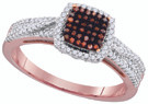 0.33 CTW DIAMOND MICRO-PAVE RING