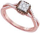 0.33CTW DIAMOND FASHION RING