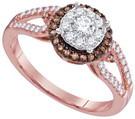 0.49CTW DIAMOND FASHION RING