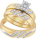0.40CTW DIAMOND FASHION TRIO-SET