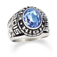 Men's Silver Select Designer Medalist Class Ring