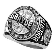 Men's Silver Select Elite Class Ring