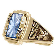 Ladies 10K Gold Crestline Accolade Class Ring