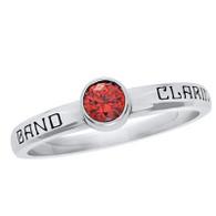 Ladies Siladium Contemporary Stellar Class Ring