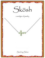 Skosh Pearl Sideways Cross