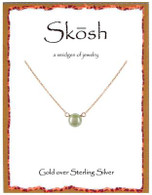 Skosh White Pearl Necklace- Gold Plated
