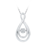 0.05 CTW DIAMOND FASHION PENDANT