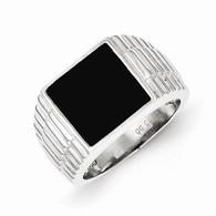 Men's Onyx Ring