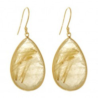 Phillip Gavriel Drop Earring with Teardrop Shape
