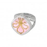 Phillip Gavriel 18k Yellow Gold & Sterling Silver Ring